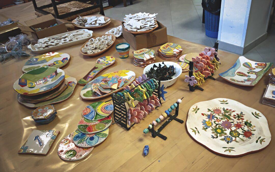 Il nostro Laboratorio di Ceramica